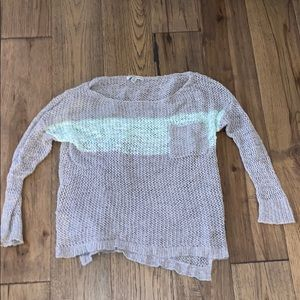 Mesh See-through American Eagle Sweater